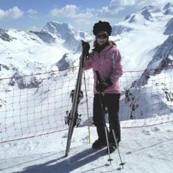 Mont Vallon 2950 m.